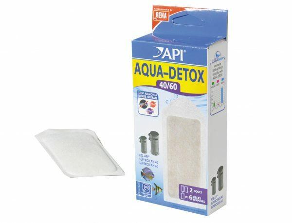 Aqua detox API 40/60 x2