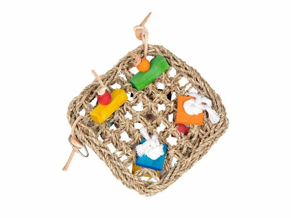 Speelgoed vogel speelmuur 29x29cm