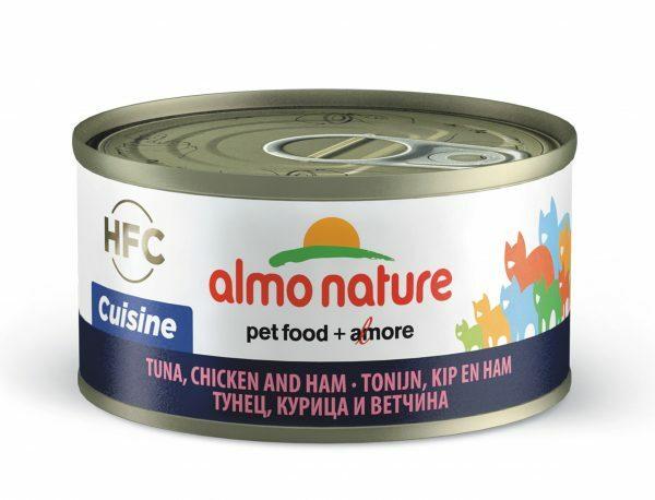 HFC Cats 70g Natural - tonijn, kip en ham