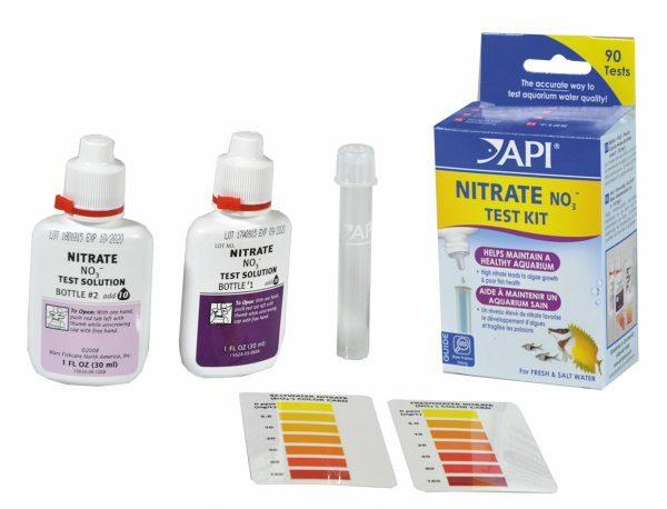 Nitrate test kit API