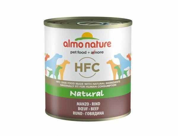 HFC Dogs 290g Natural - rundvlees