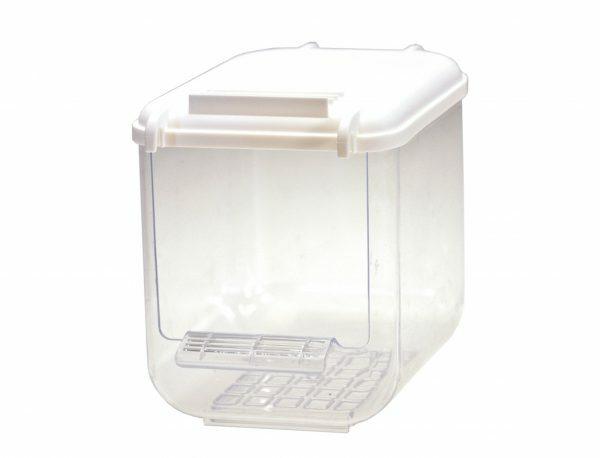 Badhuis plastiek Multi wit 10,5x12x14cm