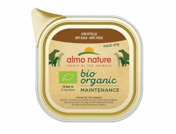 BIO Organic Dogs 100g met Kalf