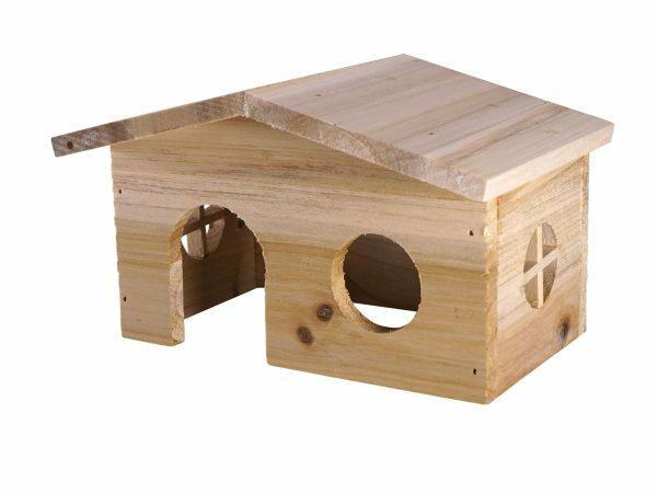 Knaagdierhuis hout Hali 20x13x12cm