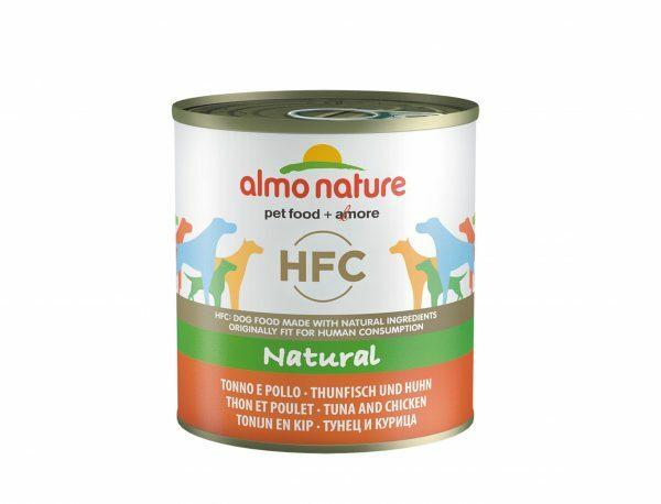 HFC Dogs 290g Natural - tonijn en kip