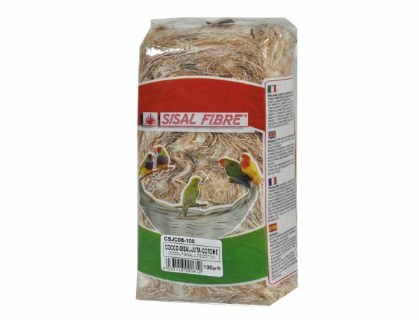 Mengeling coco-sisal-jute-katoen 100 gr