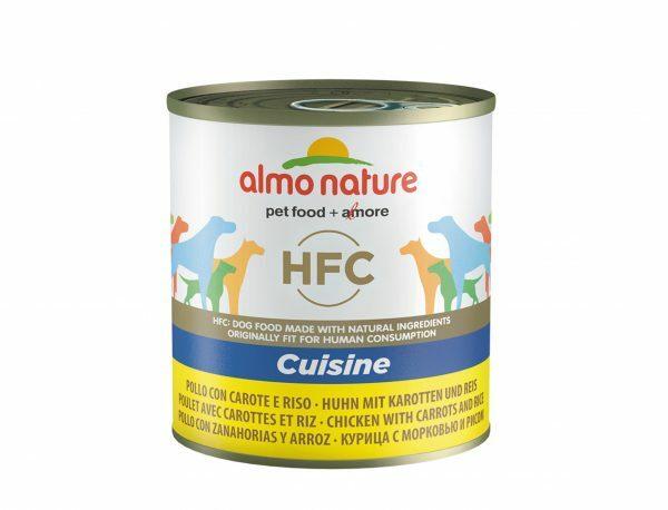 HFC Dogs 280g Cuisine - kip met wortels & rijst
