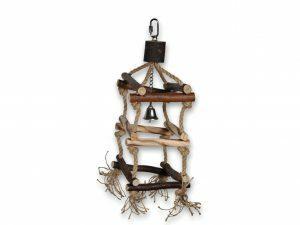 Speelgoed vogel hout natuur Tower 37cm