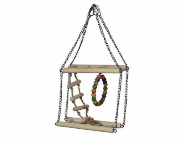 Speelgoed vogel hout Climbing Fun 20cm