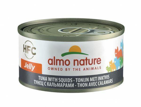 HFC Cats 70g Jelly - tonijn met inktvis