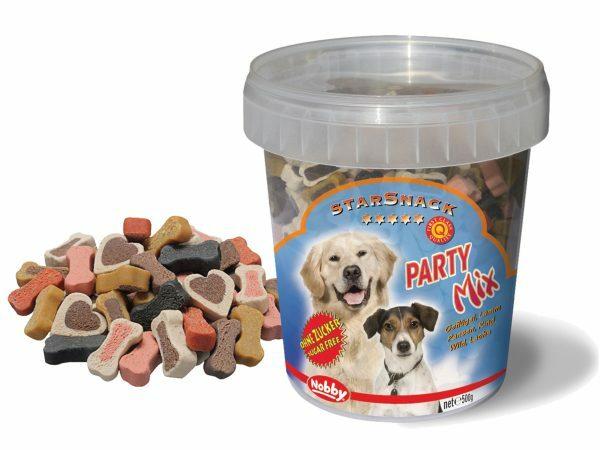 Snack hond emmer party mix 500gr