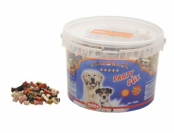 Snack hond emmer party mix 1,8kg