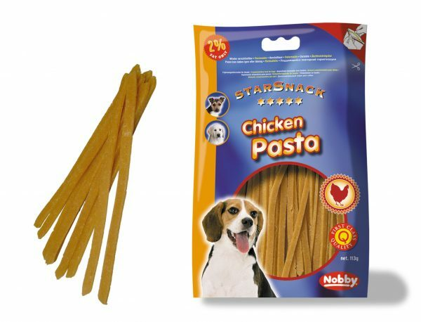 Snack hond kip pasta 113gr