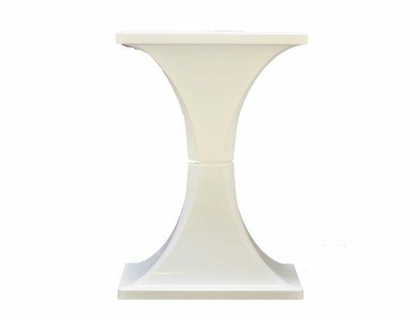 MPS Voet voor kooi Ambra wit 28,3x48,4x68,4cm