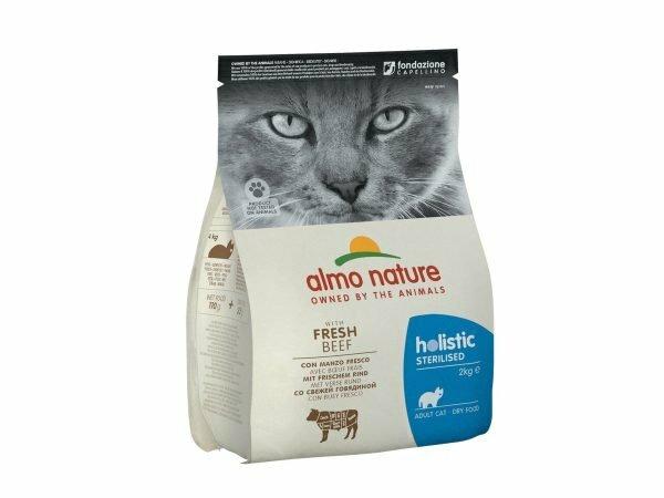 Holistic Cats 2Kg Sterilised - rundvlees en rijst