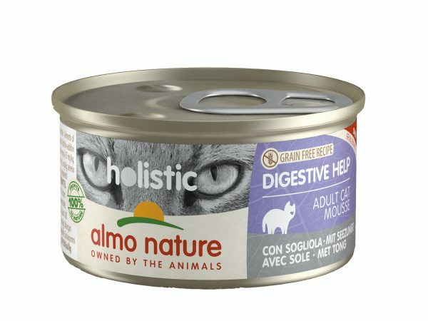 HOL Cats Digestive 85g mousse met tong