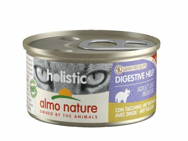 HOL Cats Digestive 85g mousse met kalkoen