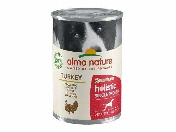 HOL Dogs 400g Single Protein met kalkoen