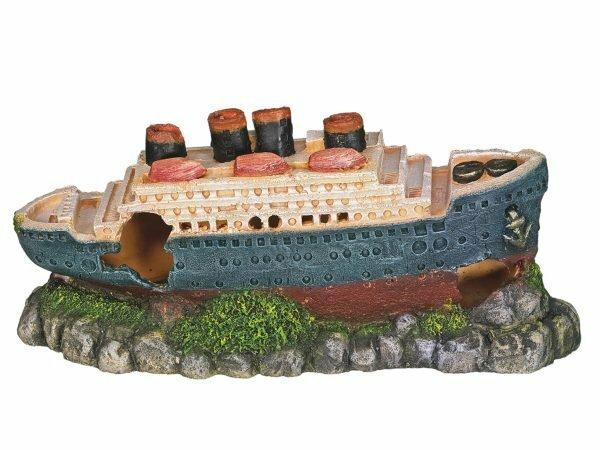 Aqua Deco Titanic 265x100x120mm