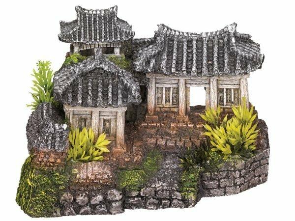Aqua Deco Aziatische tempel 190x150x120mm