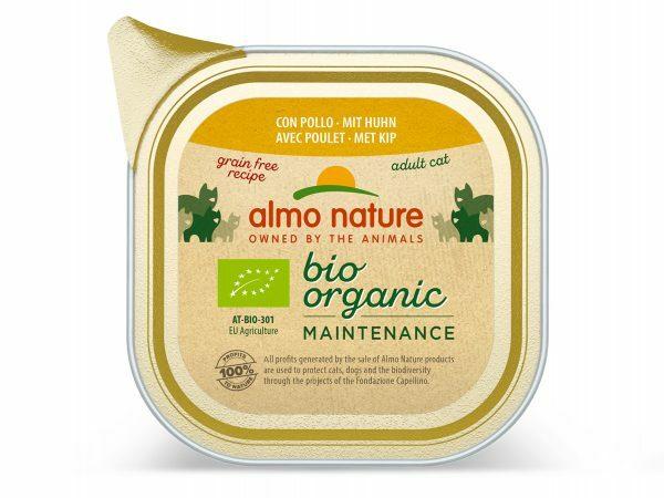 BIO Organic Cats 85g met kip