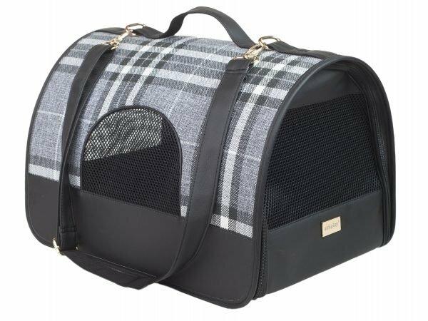 Ami Transportbox Kent zwart 45x29x28cm L