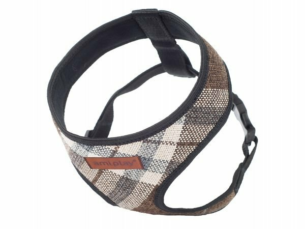 Ami Harnas London Scout bruin max. 23x25-40cm XS