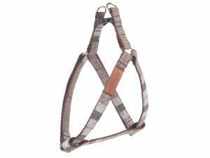 Ami Harnas London aanpasbaar bruin 40-75cmx20mm L