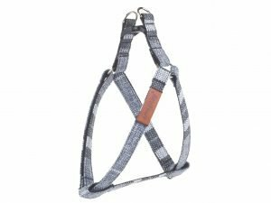 Ami Harnas London aanpasbaar grijs 40-75cmx20mm L