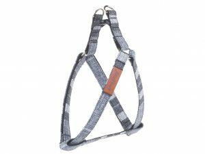 Ami Harnas London aanpasbaar grijs 30-55cmx15mm M
