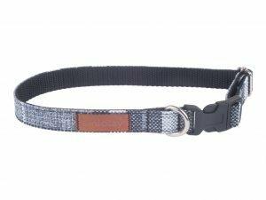 Ami Halsband London aanpasb. grijs 35-50cmx20mm L