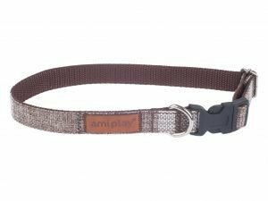 Ami Halsband London aanpasb. bruin 20-35cmx10mm S