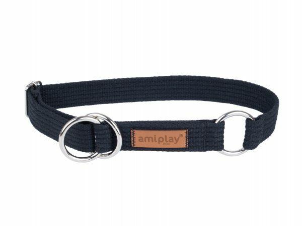 Ami Halsband Cotton Half-check zw. 34-55cmx30mm XL