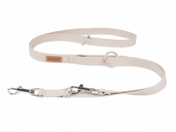 Ami Leiband Cotton 6 in 1 beige 100-200cmx25mm L