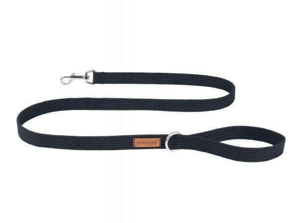 Ami Leiband Cotton zwart 140cmx15mm S