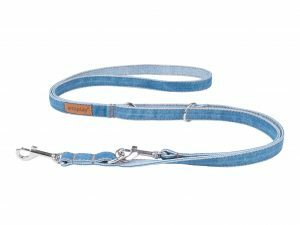 Ami Leiband Denim 6 in 1 blauw 100-200cmx10mm S