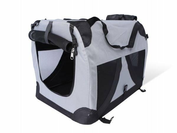 Transport Traveller nylon zwart 51x33x33cm S