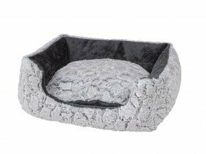 Hondenmand Mounty Ice grijs/antraciet 50x40x18cm