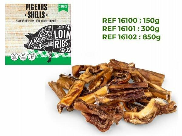 Varkensoorstukjes 150g