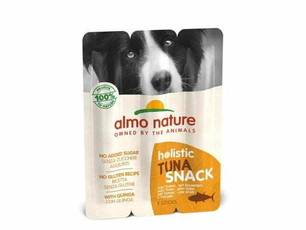 Dog Snack Holistic 3x10g - met Tonijn