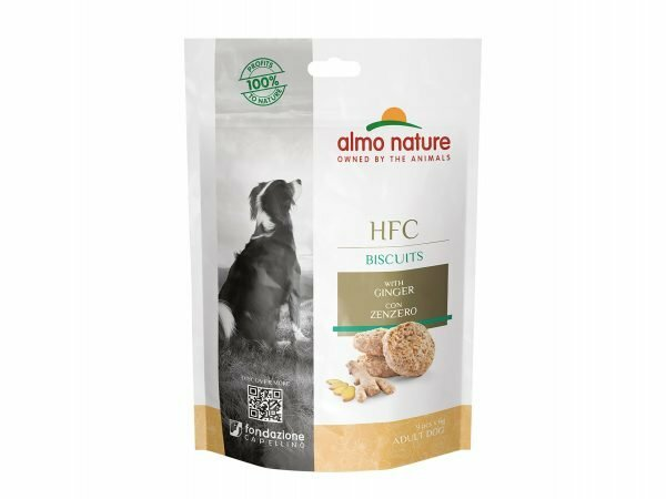 HFC Dogs 54g Biscuits - met Gember
