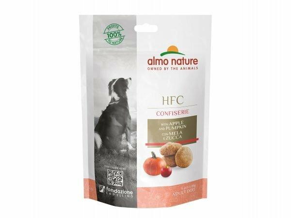 HFC Dogs Confiserie 60g - Appel & pompoen