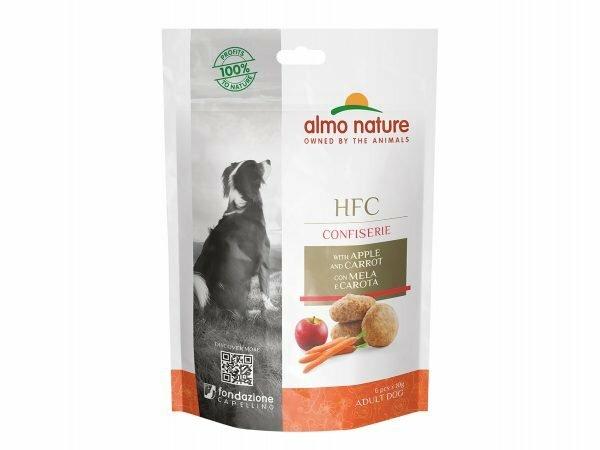 HFC Dogs Confiserie 60g - Appel & Wortel