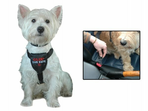Hondenautogordel Clix Car Safe M