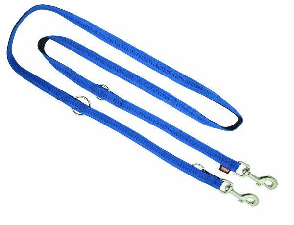 Politieleiband nylon Soft Grip blauw 20mmx2m