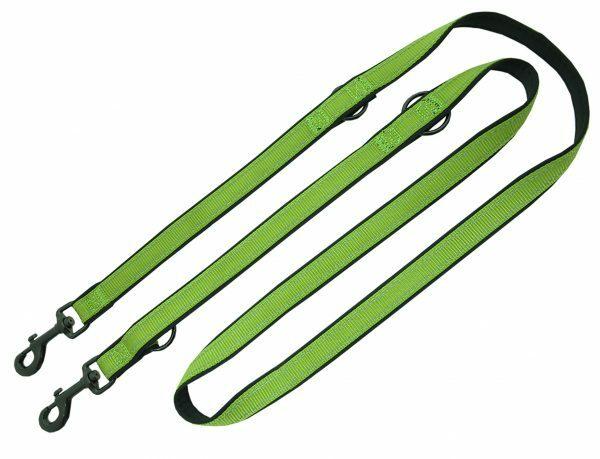 Politieleiband Reflect Soft groen 20/25mmx200cm
