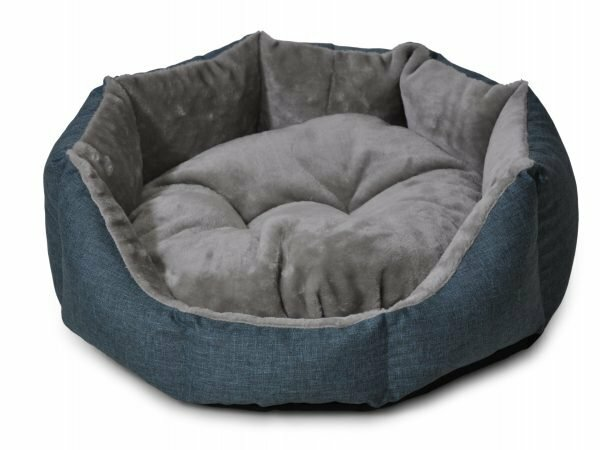 Hondenmand rond Ares turkoois 68cm