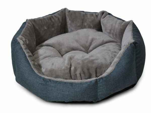 Hondenmand rond Ares turkoois 80cm