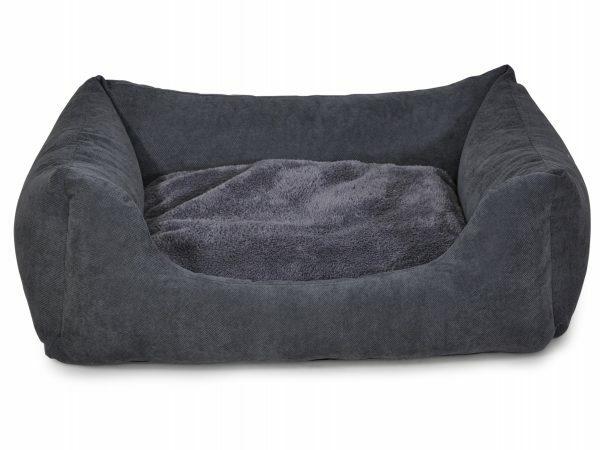 Hondenmand vierkant Zion grijs 120cm
