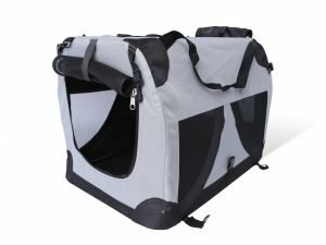 Transport Traveller nylon zwart 71x51x51cm L